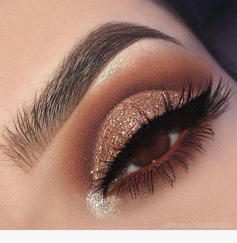 Eye Makeup Ideas | Pinterest makeup, Beautiful makeup, Prom makeup .