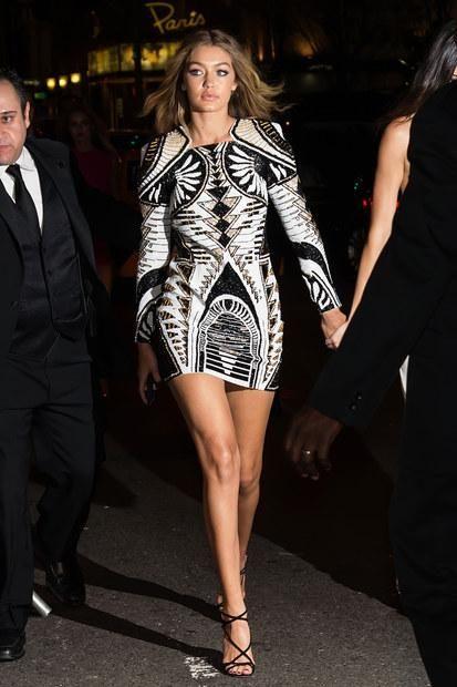From Gigi Hadid's Balmain for H&M Dress to Selena Gomez's Chic .