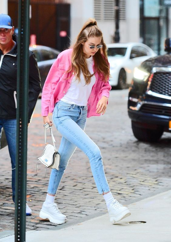 Try These Shoes If You Are Tired Of Sandals In Summer | Gigi hadid .