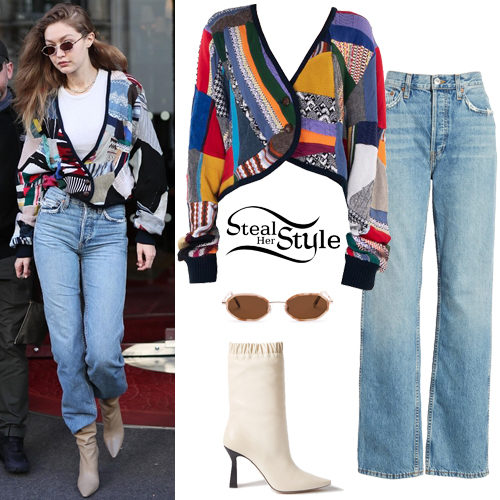 Gigi Hadid Clothes & Outfits | Steal Her Sty