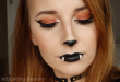 Glamorous Halloween Bat Makeup – fashiontur.com in 2020 .