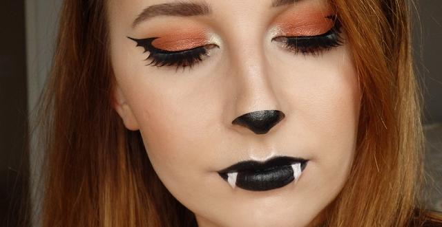 Glamorous Halloween Bat Makeup – fashiontur.com in 2020 .