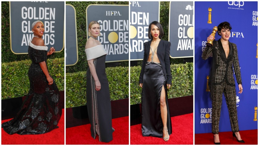 Our favorite 2020 Golden Globes fashion trends - Los Angeles Tim