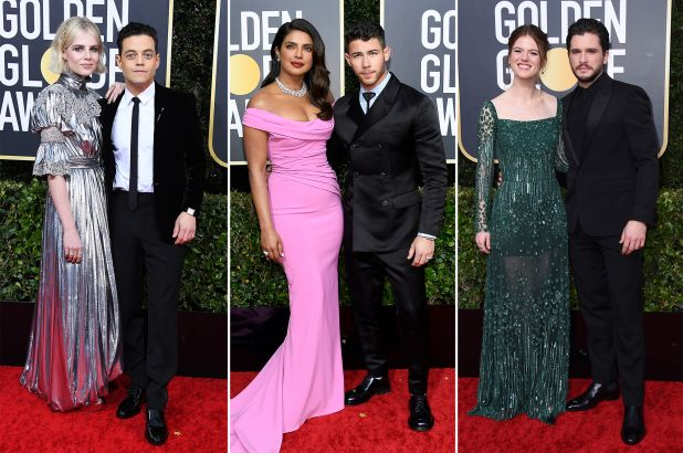 The 2020 Golden Globes hottest couples on the red carp