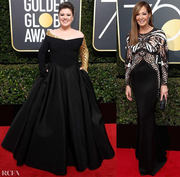 2018 Golden Globe Awards Red Carpet Roundup - Red Carpet Fashion .