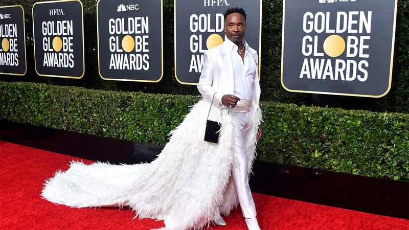 Golden Globes red carpet 2020 fashion: Billy Porter rocks .