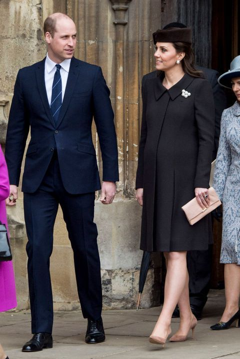 Kate Middleton's Baby Bump Is on Glorious Full Display in Her .