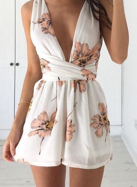 48 Jawdroppingly Cheap Playsuit and Romper | Trendy summer outfits .