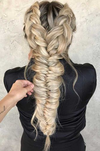 24 UNBELIEVABLY BEAUTIFUL BRAID HAIRSTYLES FOR CHRISTMAS PARTY .