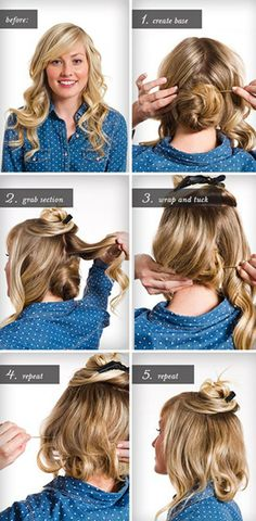 50+ Best Christmas party hairstyles images | christmas party .