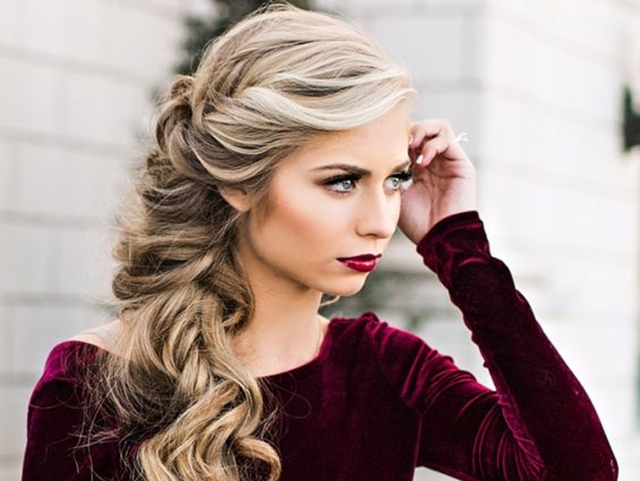 "8 Smashing Christmas Party Hairstyles to Get ""HIM"" tangle"