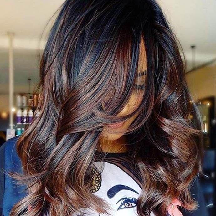 Summer Hair Colour Trends For 2019 | Hair color for black hair .