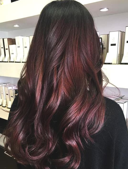 chocolate-cherry-hair-trend-min | Ecemel