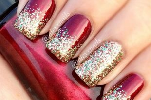 11 Holiday Nail Art Designs Too Pretty To Pass Up - Makeup .