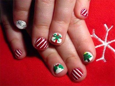 Christmas Nail Art Designs For Kids | Kids nail designs, Nail art .