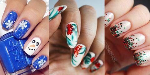 45 Festive Christmas Nail Art Ideas - Easy Designs for Holiday Nai
