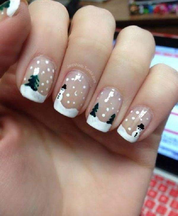 Are you looking for easy coffin acrylic Christmas nail design for .