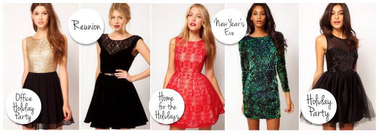 Amy's Dress Guide for all your Holiday Parties | Fabulously Dishevel