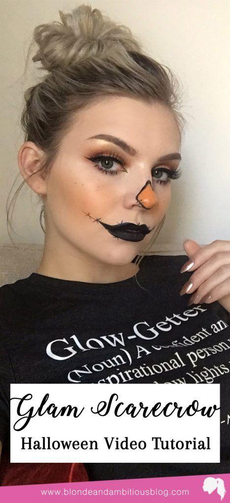 Halloween Tutorial Series: Glam Scarecrow | Blonde & Ambitious .