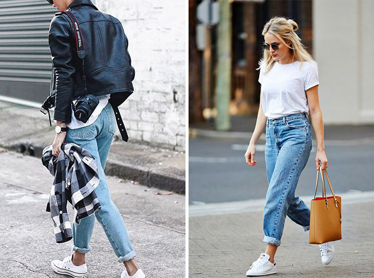 How to style your favourite white sneakers - Sportelu