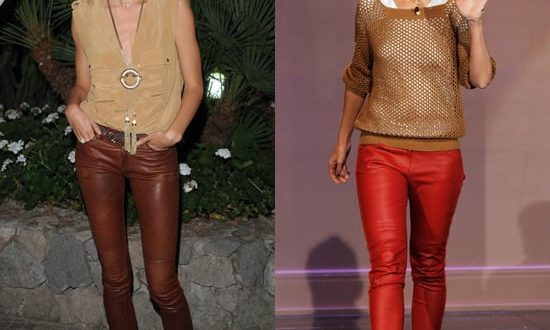 How to Wear Leather Pants | POPSUGAR Fashi
