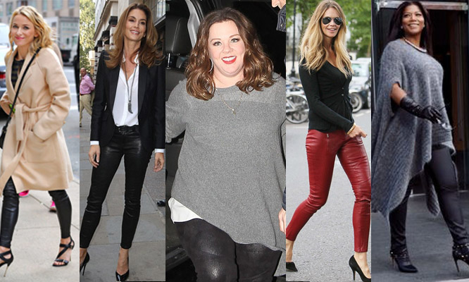 YES YOU CAN WEAR BLACK LEATHER PANTS OVER 40 — Frocknet. | Frockne