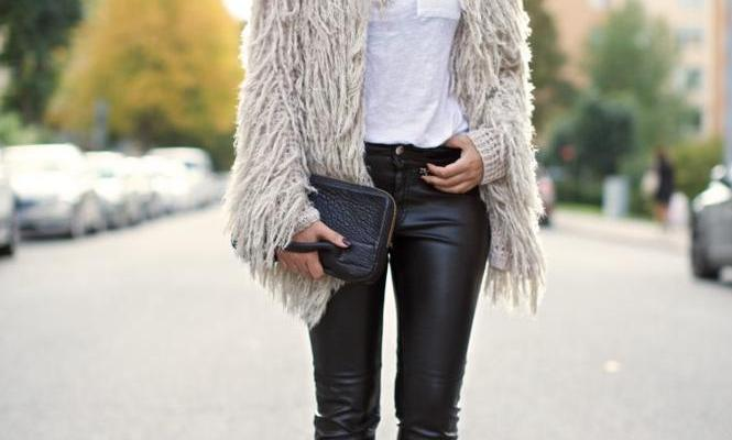 30 Outfits That'll Make You Want a Pair of Leather Pants Right Now .