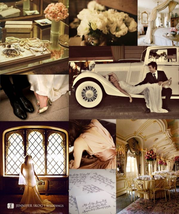 Hottest Wedding Trend: Vintage/1920s Inspired Wedding Theme .