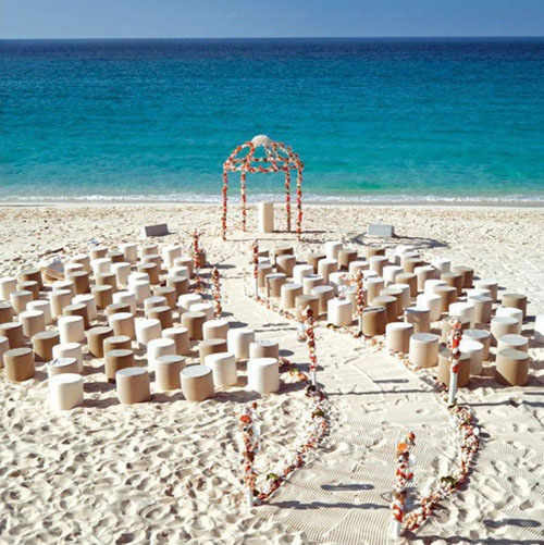 20 AMAZING BEACH WEDDING IDEAS...... - Godfather Sty