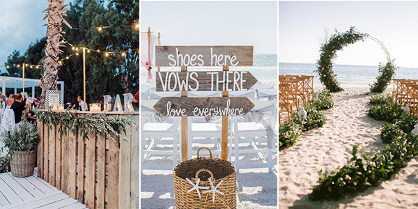 25 Stunning Beach Wedding Ideas You can't Miss for 2021 .