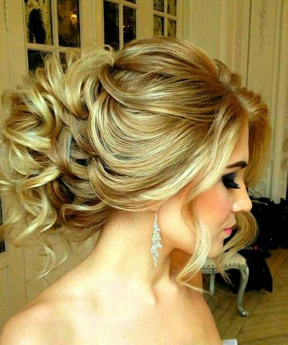 Trubridal Wedding Blog | Perfectly Imperfect Messy Hair Updos For .
