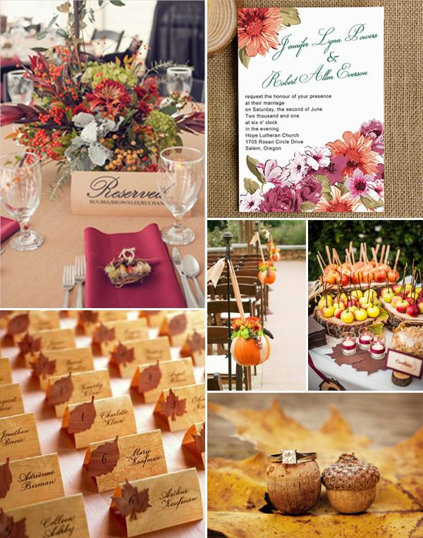 10 Amazing Fall Wedding Flower Arrangement Ideas 2014 .