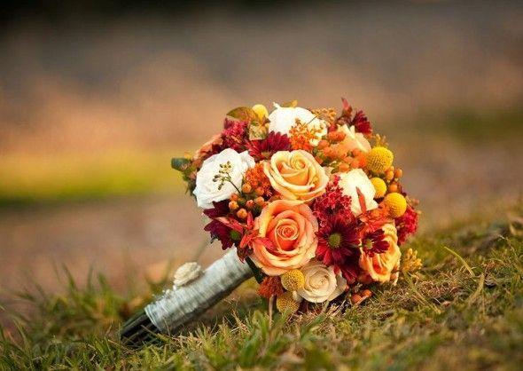 30 Fall Wedding Bouquets - Rustic Wedding Chic | Fall flower .