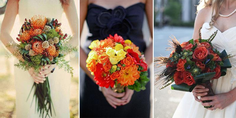 36 Amazing Fall Wedding Bouque
