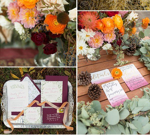 10 Amazing Fall Wedding Flower Arrangement Ideas 20