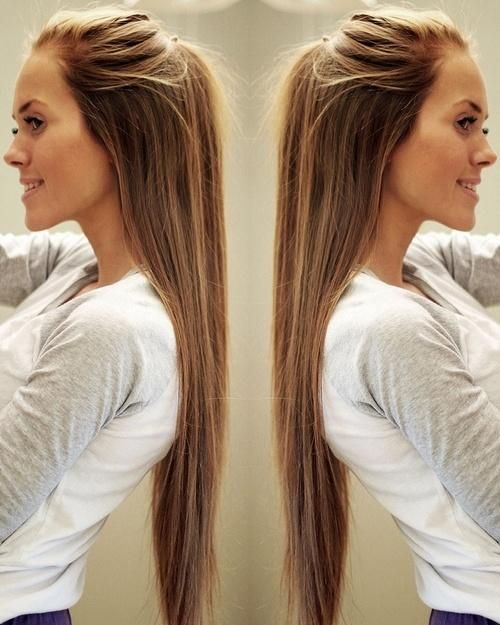 My hair inspiration. One day I will have hair this long!