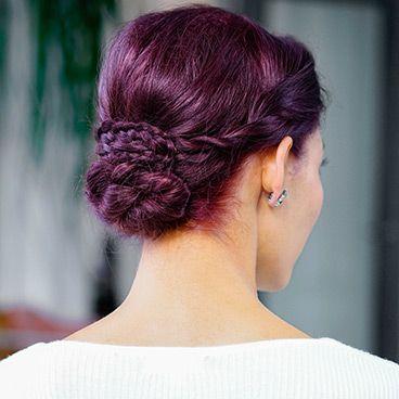 Ultra Color - Dark Intense Violet V2 | Dark violet hair, Aveda .
