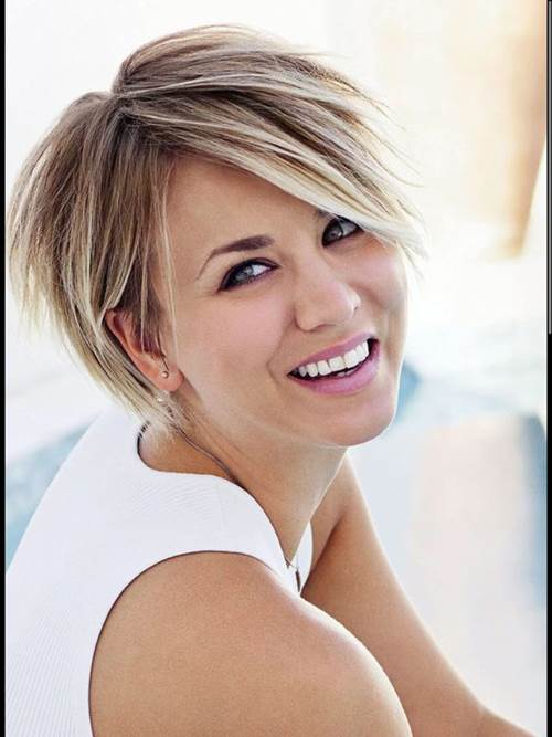 12 Best Kaley Cuoco Short Hair - Hairstyles Ide