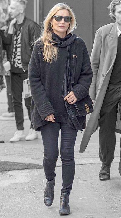 Kate Moss in London, England on Monday 07/10/19 #VeronicaTasmania .