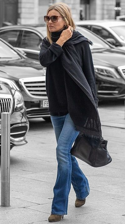 Kate Moss in Paris, France on Wednesday 25/09/19 #VeronicaTasmania .