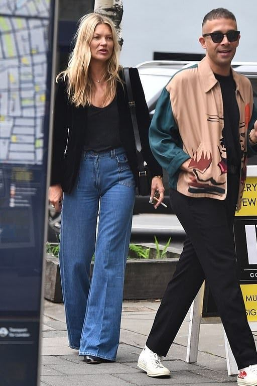 Kate Moss Clothes and Outfits | Star Style – Celebrity fashi