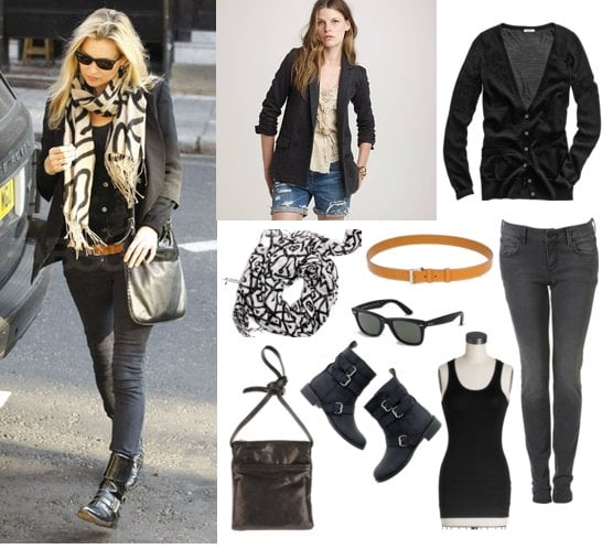 Pictures of Kate Moss Casual Street Style | POPSUGAR Fashi
