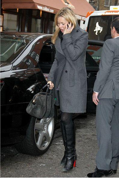 Charcoal Coat | Kate moss street style, Kate moss style, Kate mo