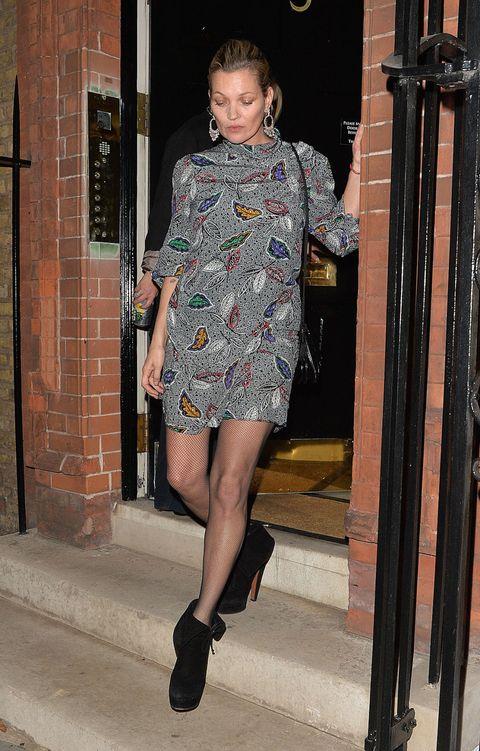 Kate Moss Style - Kate Moss Street Style Phot