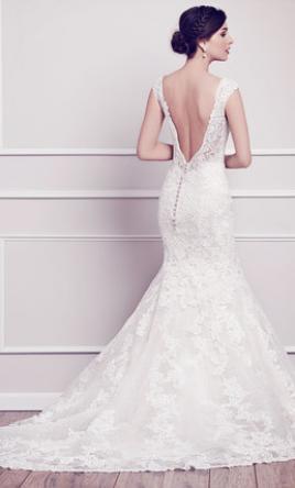 Kenneth Winston 1573 Wedding Dress | Sample, Size: 12, $1,0