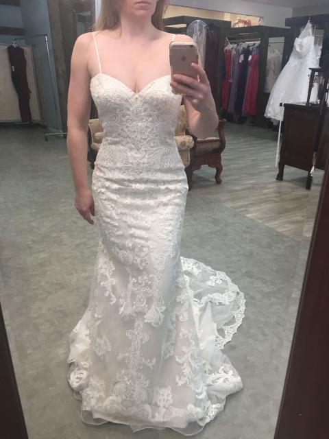 Kenneth Winston 1698 Wedding Dress | Sample, Size: 12, $5