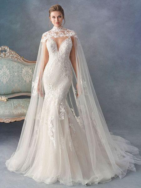 Wedding Dress Inspiration - Kenneth Winston - MODwedding | Cape .