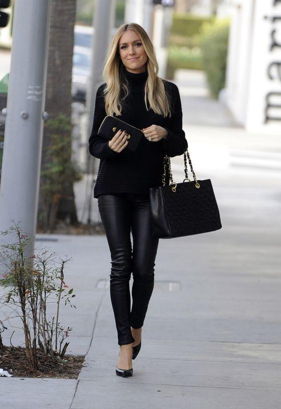 Fashion Trend - Leather Pants | Modetendenser, Læderbukser, Outfi