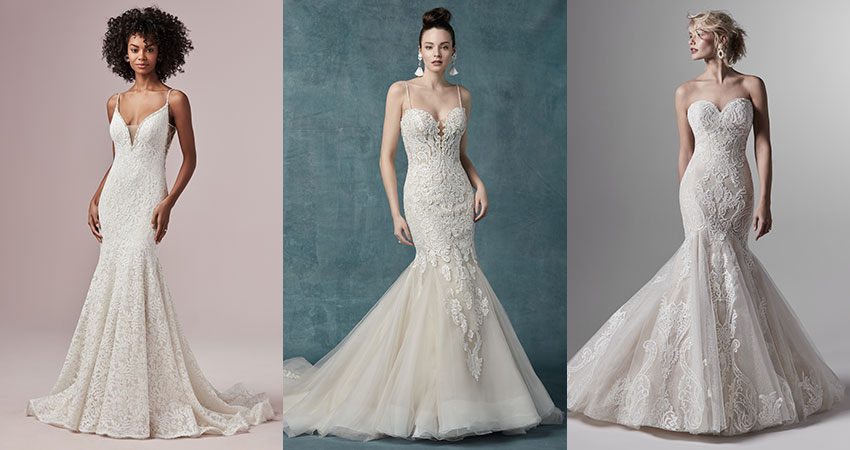 Friday Favorite: Lace Mermaid Wedding Dre