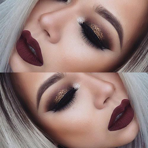40 Eye Makeup Looks for Brown Eyes | StayGlam | Stunning makeup .